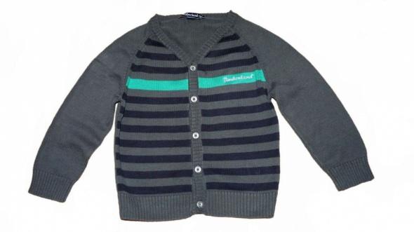 Bluzki TIMBERLAND Sweter w paski śliczny r 4 lata