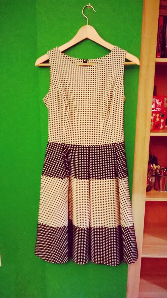 Suknie i sukienki sukienka w kratkę pin up lata 50