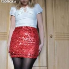 Spódnica Gina Tricot rozm s mini cekiny