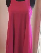 Przepiękna sukienka SIMPLE purpurowa