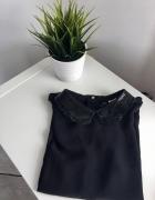 piękna mgiełkowa bluzeczka z kołnierzykiem H&M