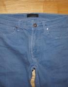Spodnie męskie niebieski jasne zara