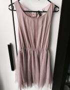 H&M tiulowa sukienka