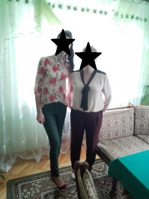 Eleganckie Stylizacja ja i mama