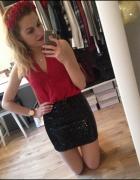 Czerwona koszula bawełna