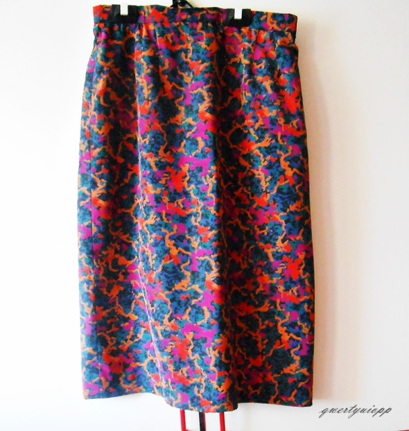 Spódnice spódniczka midi wzorzysta wielobarwna wiosna lato