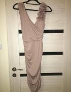 Sukienka drapowana telly weijl