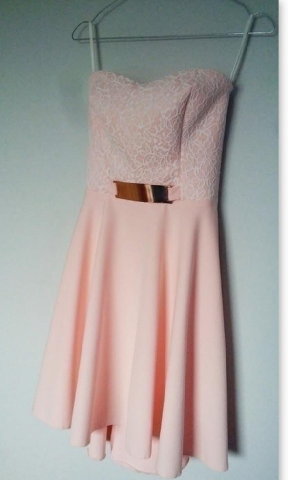 57db647017 Śliczna rozkloszowana sukienka gorsetowa wesele w Suknie i sukienki ...