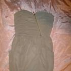 Bik Bok sukienka asymetryczna szyfon na wesele XS