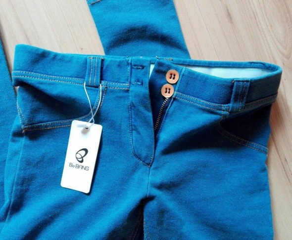 5275a0dd786070 jegginsy tregginsy jeansy rurki freddy push up w Spodnie - Szafa.pl