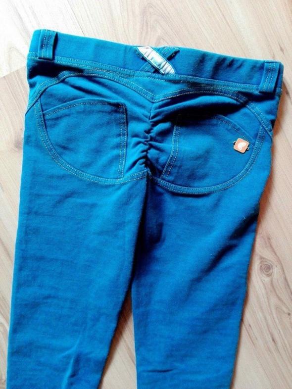 jegginsy tregginsy jeansy rurki freddy push up w Spodnie