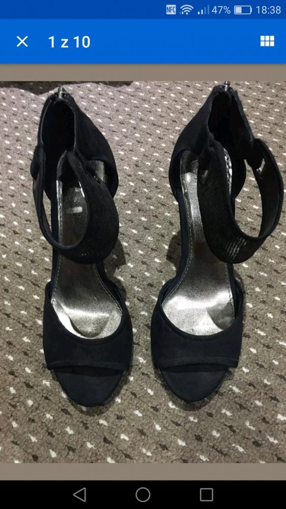 Obuwie Eleganckie sandały ZARA niepowtarzalne