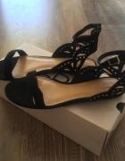 Sandały ALDO czarne nowe rozmiar 38