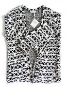 NOWY czarno biały sweter bluza BUTIK S 36...