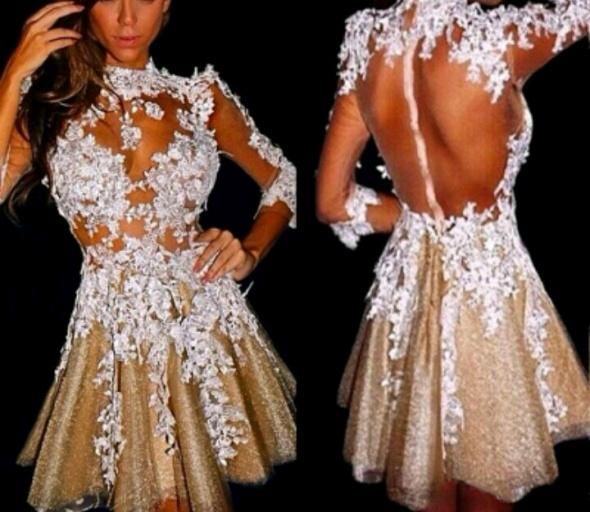Eleganckie Niesamowita sukienka