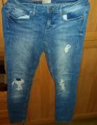 spodnie dziury spodenki leginsy