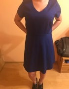 Elegancka habrowa sukienka...