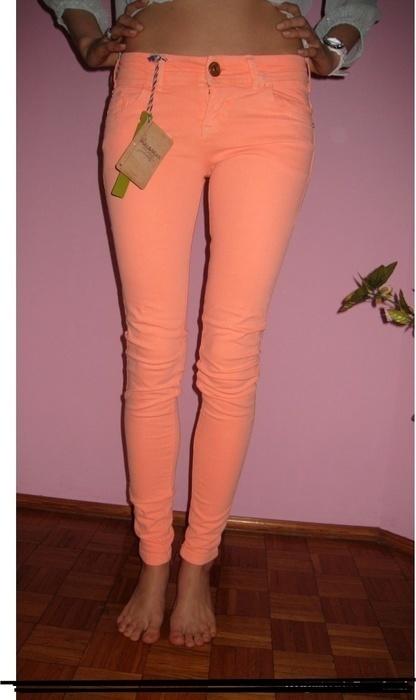 Spodnie Morelowe spodnie