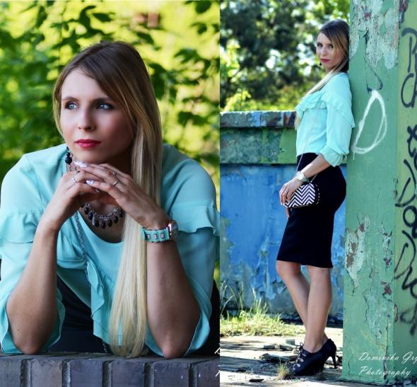 Blogerek Torebka na łańcuszku