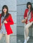 Red coat...