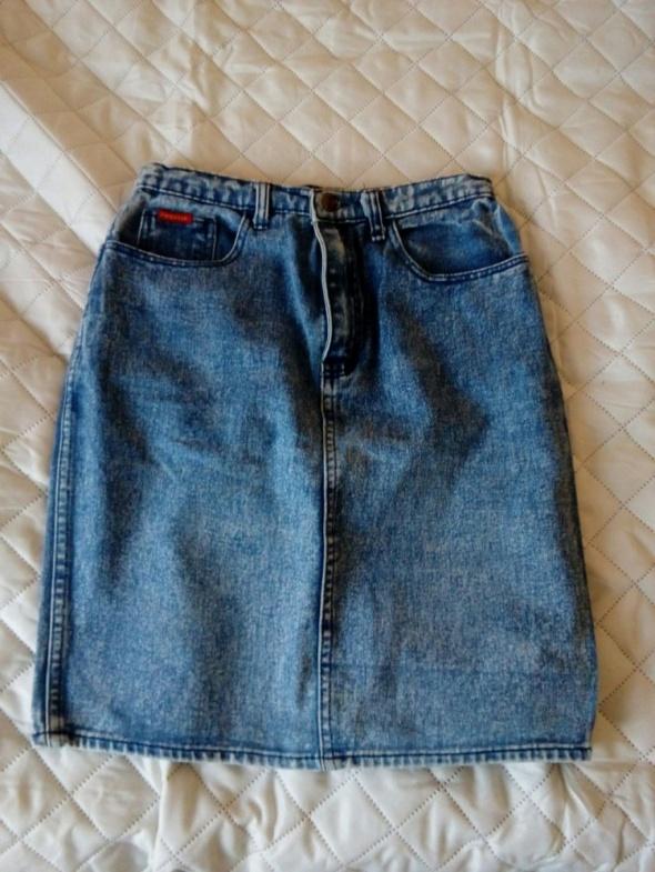 Spódnice jeansowa spódniczka marmurkowa