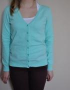miętowy sweter takko...