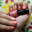 Letnie paznokcie w kolorze brzoskwinki