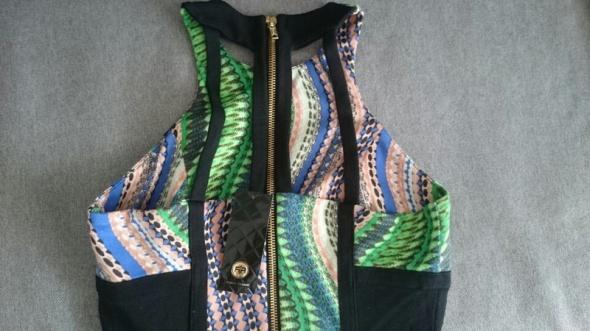 Suknie i sukienki sukienka mini river island M cut out wyciecia