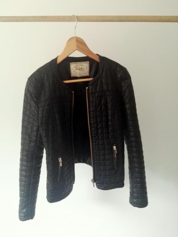 Odzież wierzchnia Pikowana kurtka skórzana