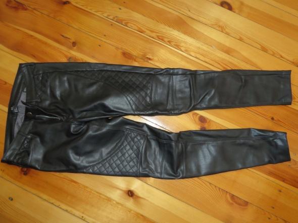 Spodnie motocyklowe skórzane spodnie