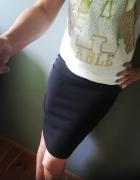 sexy ołówkowa czarna spódniczka