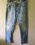 męskie spodnie pull&bear...