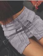 Spodnica zamszowa sznurowana HIT
