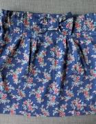 Spódnica w kwiaty 32 xxs