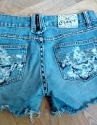 Szorty jeansowe XS