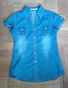Jeansowa koszula S