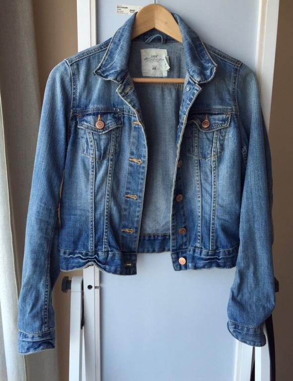 Odzież wierzchnia Dżinsowa kurtka katana h&m