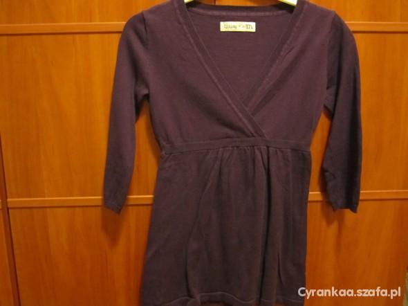 Swetry Śliwkowy sweterek House