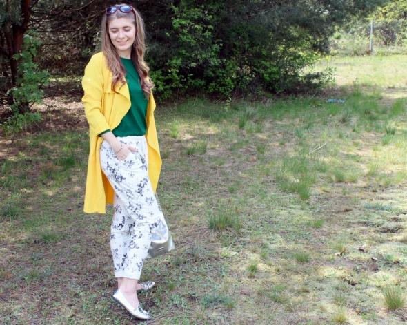 Blogerek Żółty płaszczyk