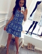 Sukienka La Perla boho we wzory Varlesca s 36 m 38