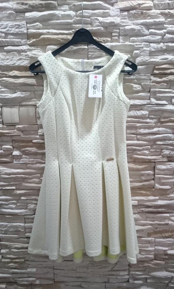 Suknie i sukienki nowa pastelowa sukienka QUICKSIDE