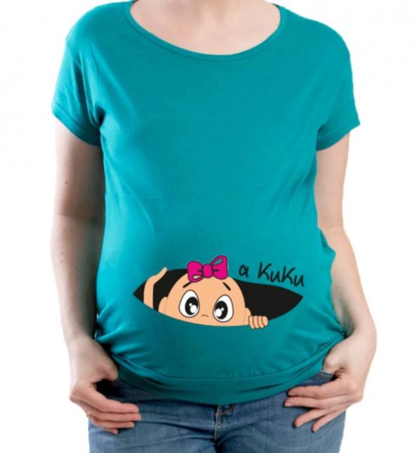 Tunika lub sukienka ciążowa na coś z moich rzeczy