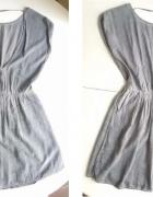 SZUKAM sukienka reserved yfl szara plecy...