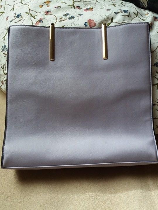 Torebki na co dzień liliowa torba new look