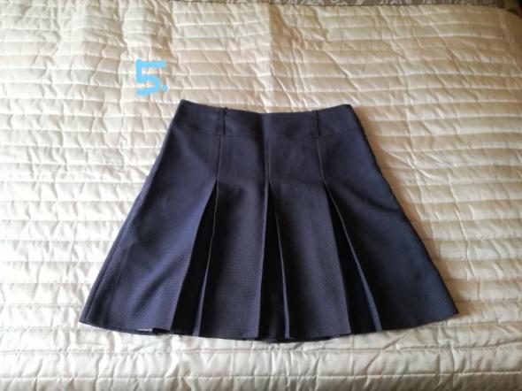 Granatowa spódnica 48