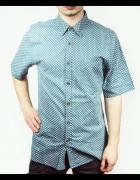 Koszula ze wzorem unisex Topman