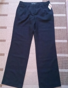 czarne damskie eleganckie spodnie 38