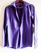 Wygodna koszula w jasno fioletowym kolorze