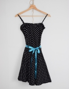 Sukienka groszki lata 60 PIĘKNA...