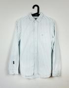 Biała koszula klasyczna w paski NEXT